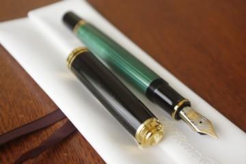 ペリカン スーベレーン M800 緑縞